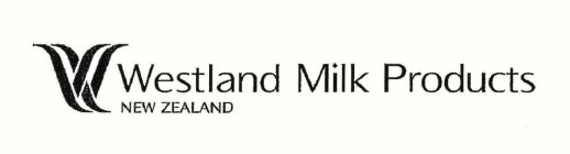 w westland milk products new zealand