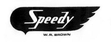 speedy w.r. brown