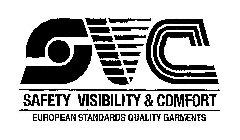 svc safety visibility & comfort european standards quality garments