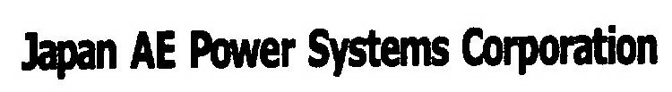 japan ae power systems corporation