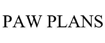 PAW PLANS
